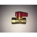 "Manual Shut-off Valve, 1/2"" NPT"