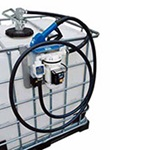Suzzara Blue Pro Pump Package with Automatic Nozzle