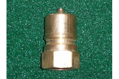 Brass 2-Way Shut Off Plugs