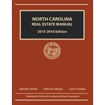 North Carolina Real Estate Manual 2015-2016 Edition