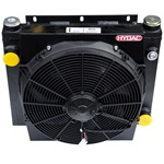 Hydac Air Cooled Oil Cooler with DC Motor Drive