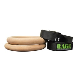 RAGE PERFORMANCE WOOD RING SET