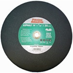 Cutoff Wheels for High Speed Portable Gas & Electric Saws - Reinforced Type 1 - Asphalt