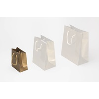 Gold Shopping Bag Small