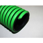 Green and Black Flex Suction Hose