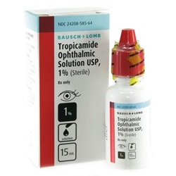 Tropicamide Drops 1%, 15mL