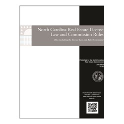 North Carolina Real Estate Law & Commission Rules