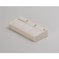 IVORY 3-PAIR EARRING TRAY  48