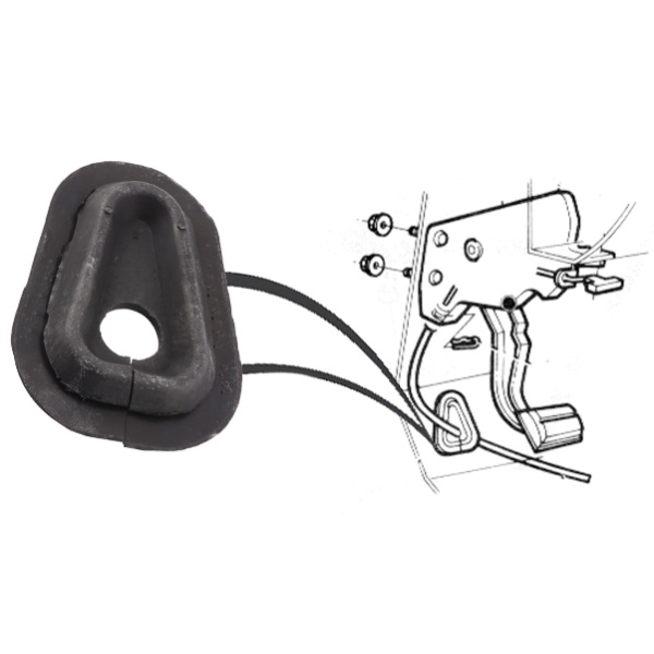 Steele Rubber Products Firewall Grommet