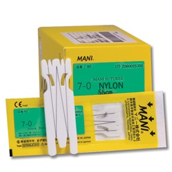 Mani sutures 7-0 Nylon