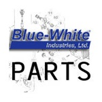 Blue White Pump Parts