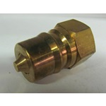 "Brass 1/2"" 2-Way Shut Off Valve"