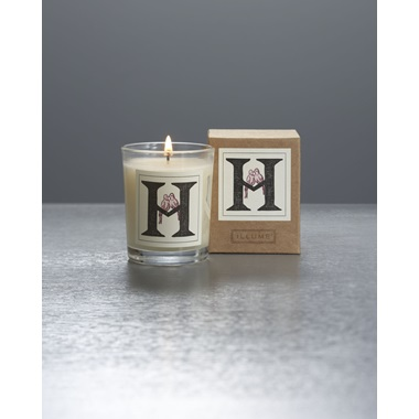 Monogram H Boxed Votive
