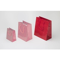 RED SHOPPING BAG LARGE