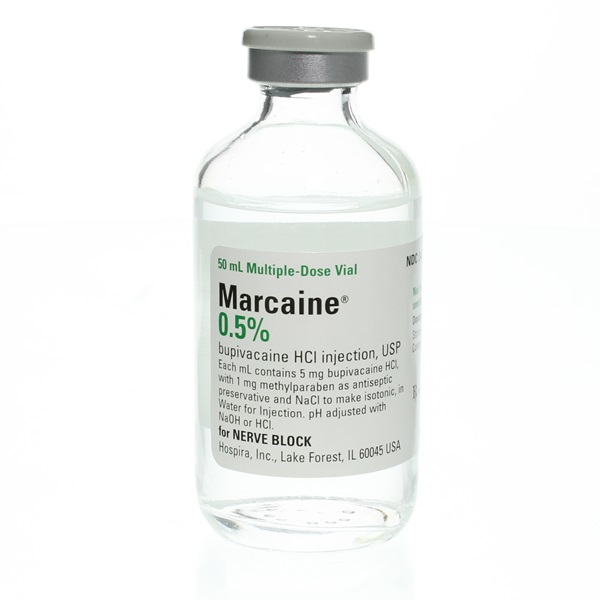 Marcaine Injectable 0.5%, 50mL