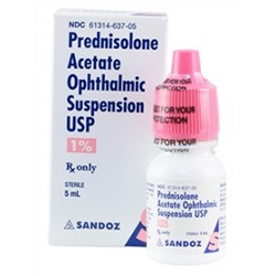 Prednisolone Acetate Drops 1%, 5mL