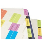 "1-1/2"" Erasable Write-On Index Tabs"