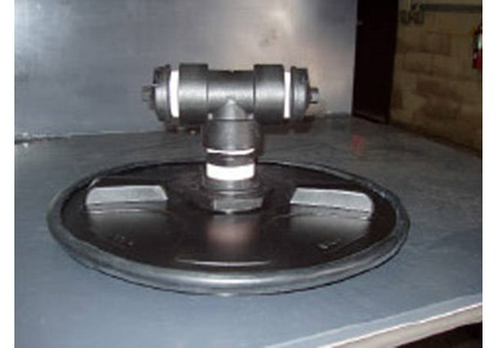 "16"" DEF Tank Lid Assembly - Dual Air Vents"