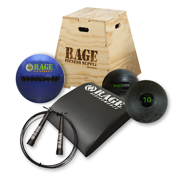 RAGE Home Gym Intermediate Kit