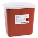 2 Gallon Red Container - Locking Lid
