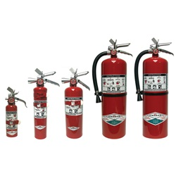 Amerex Halotron Fire Extinguishers