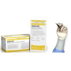 SensiCare white polyisoprene Surgical Gloves