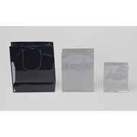 BLACK SHOPPING BAG LARGE