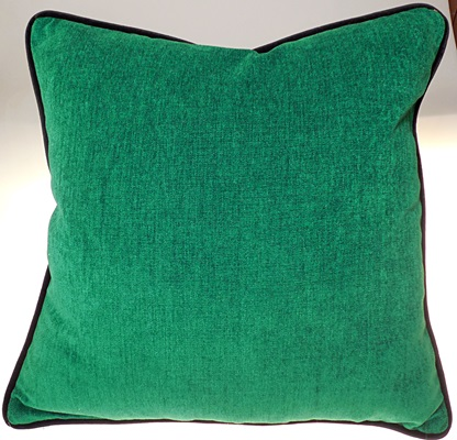 Green Velvet Pillow