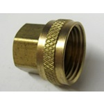 Brass FPT x FGHT Adapter