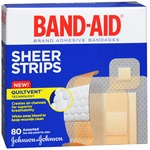 Band-Aid Adhesive Strips