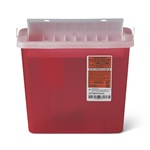 5 Quart Red Container - Locking Horizontal Lid