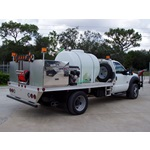 Roadside Spray Truck 525 Gallon Mixer Tank