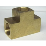 Brass FPT Tee Fittings