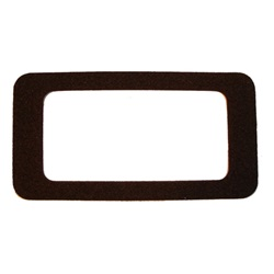 Dome light lens gasket