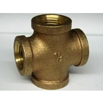 Brass FPT Cross Fittings