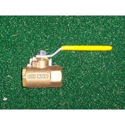 "1/2"" Brass Ball Valve"