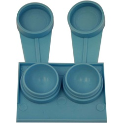 Deep Contact Lens Case - Blue