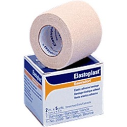 tan, nonsterile elastoplast elastic compression bandage roll