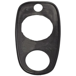 Trunk handle mounting pad