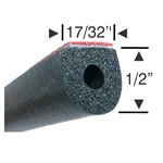 Peel-N-Stick Large Hollow Round - 5ft