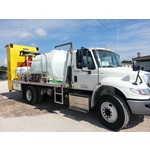 1035 Gallon Roadside Spray Truck with GPS Injection