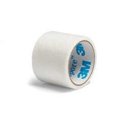 Micropore (Paper) Tape - 1 Inch x 1.5 Yards, 3M
