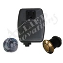 CONTROL: TF-1 120V 1.0HP PKG WITH #15 PVD BRUSH BRONZE BUTTON