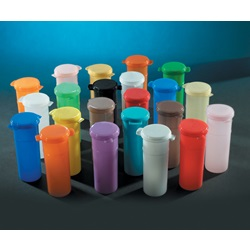 Hinged Lid Colored Sampling Vial (Thermo Scientific - Capitol)