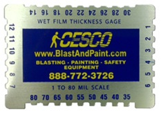 Wet Film Thickness Gauge