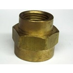 "Brass 3/4"" x 1/2"" FPT Reducer Coupling"