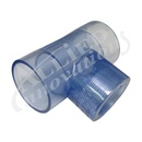 "IONIZER PART: 2"" CLEAR TEE"