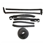 Convertible Roof Rail Weatherstrip Kits