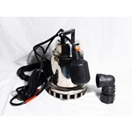 Stainless Steel Sump Pump 1/3 Horsepower 115v