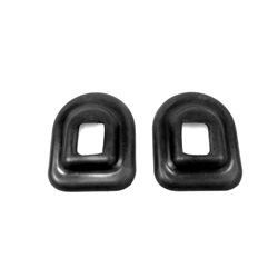 Spare wheel carrier grommet